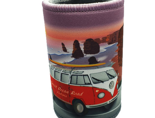 Great Ocean Road Kombi Cooler – Red